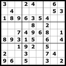 Aturan untuk mengisi lembar permainan Sudoku.