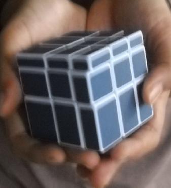 Rubik aneh punya Jaka.