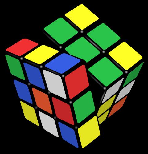 Mainan Rubik untuk asah kotak yang sehat.