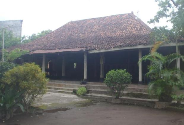 Rumah Jawa di daerah Pakualaman.